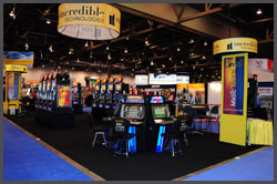 Incredible Technologies G2E Booth