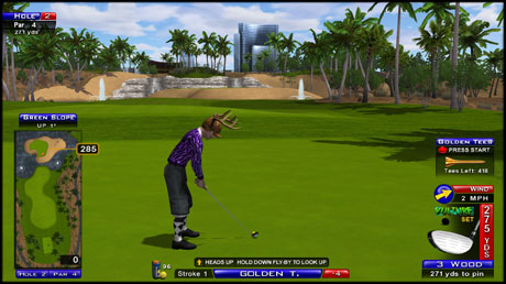 Desert Valley HOLE 2