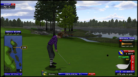 Sparkling Waters HOLE 8
