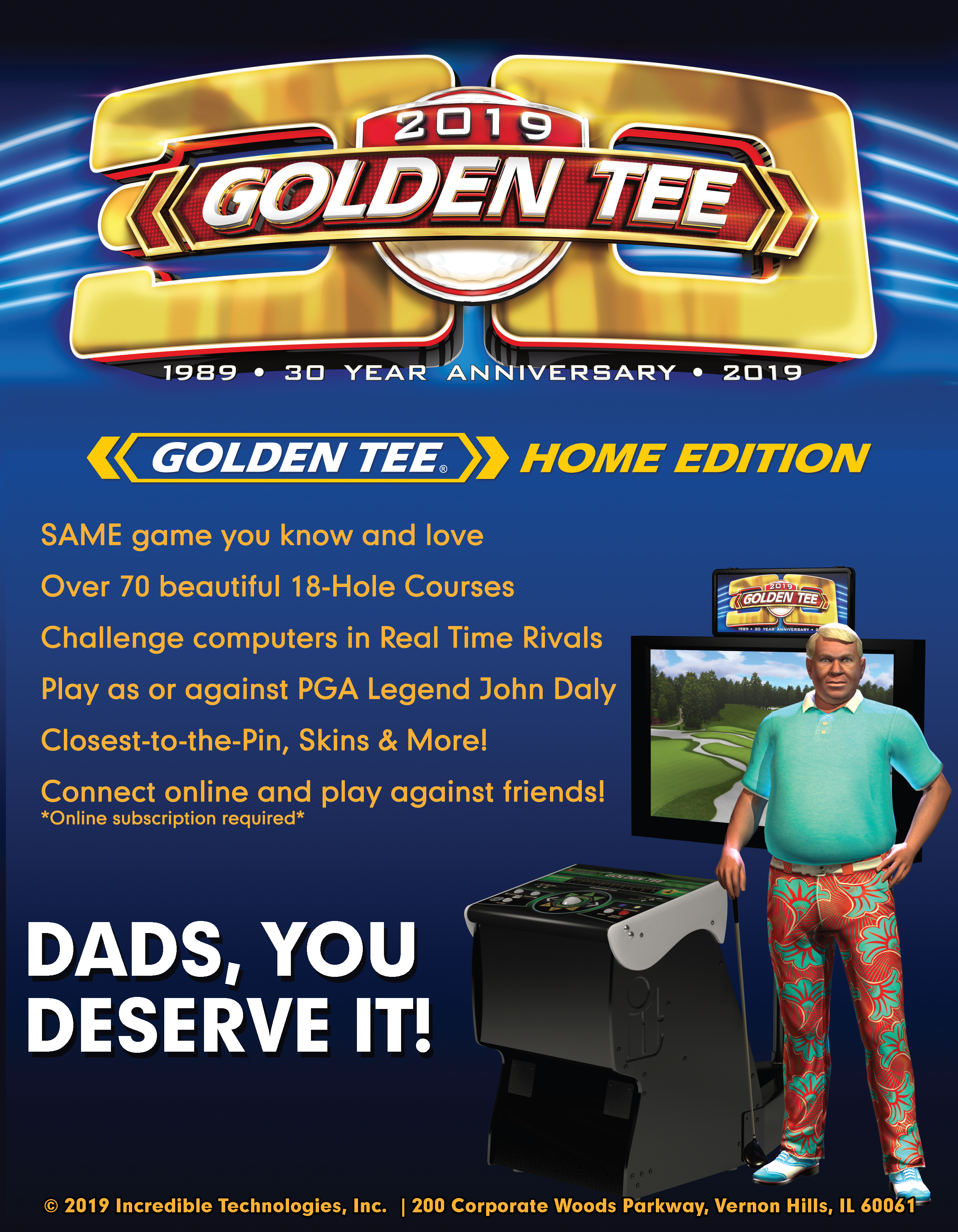 Dads, you deserve it!