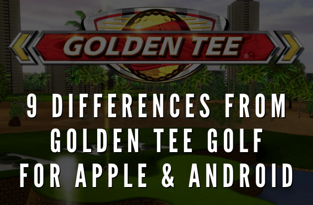 Nine differences from GTG