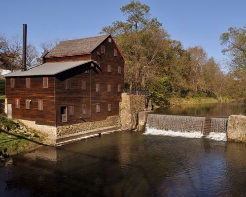 The Old Mill inspiration