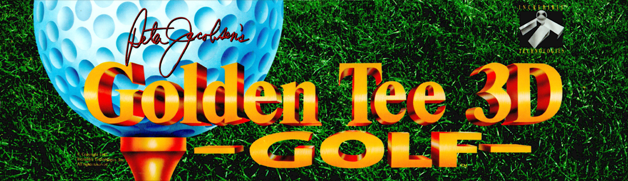 Golden Tee 3D Golf marquee