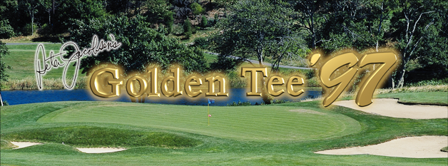 Golden Tee '97 marquee