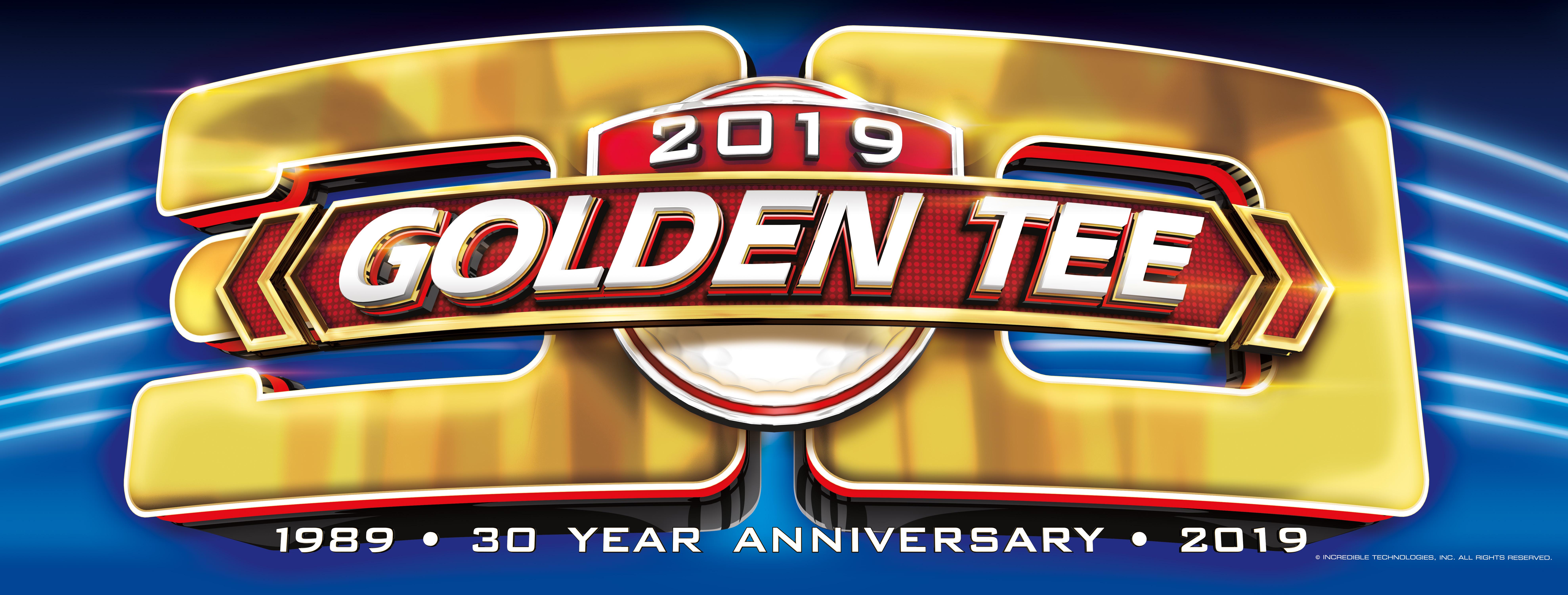 Golden Tee 2019 marquee