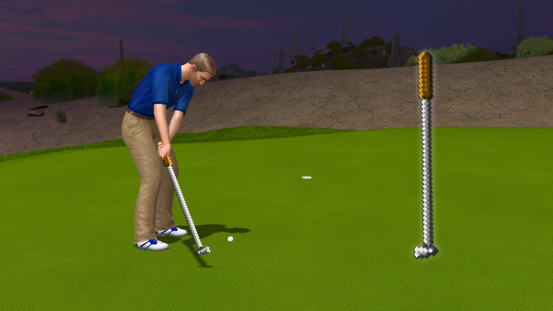 Golden Tee 2019 - 8-Bit putter