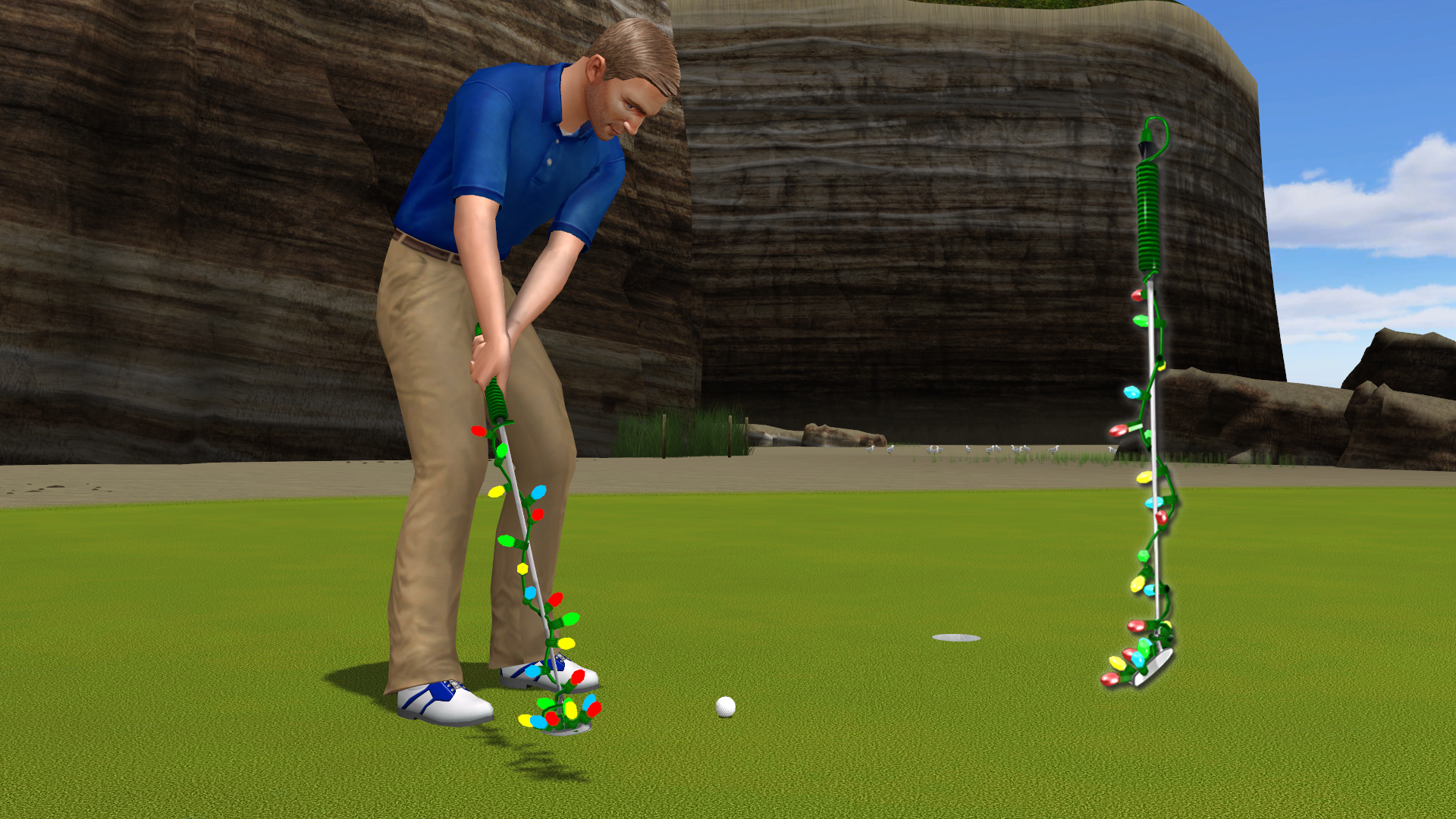 Golden Tee 2019: It's Lit Putter