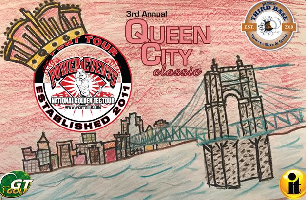 Power Events Golden Tee Tournament in Cincy