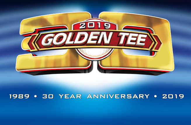 Golden Tee 2019 marquee