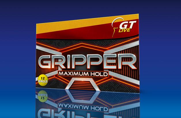 Gripper Golf Balls
