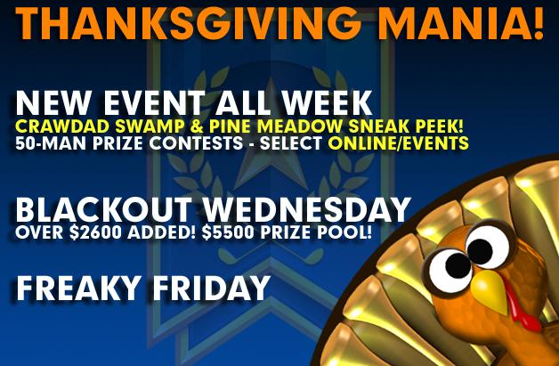 Thanksgiving Mania!