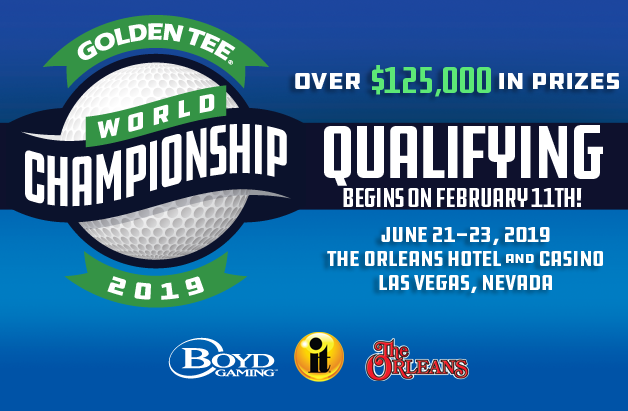 Golden Tee World Championship qualifying