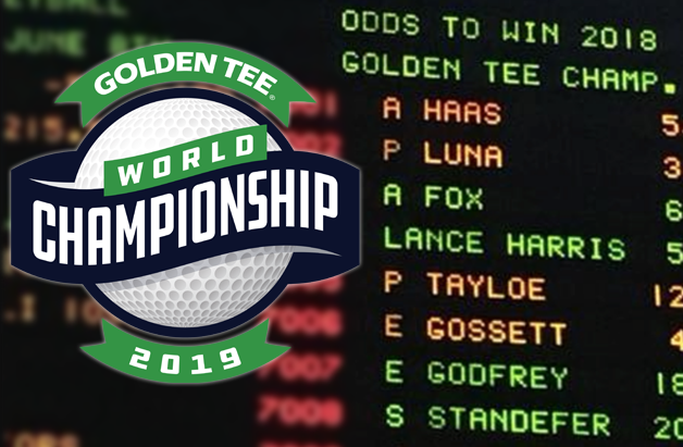 Betting Odds at the 2019 Golden Tee World Championship!