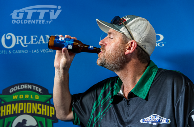 Dave Sandmire drinks a beer for GTTV
