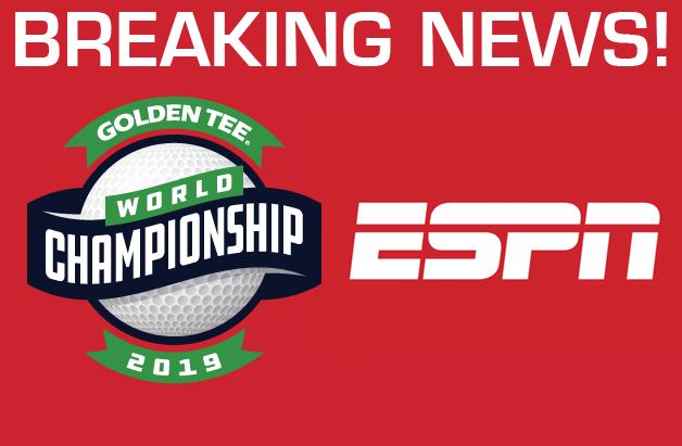 2019 Golden Tee World Championship Heads to ESPN