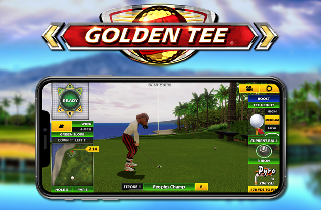 Golden Tee Golf goes mobile!