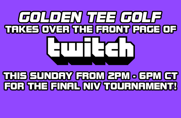Golden Tee on Twitch!