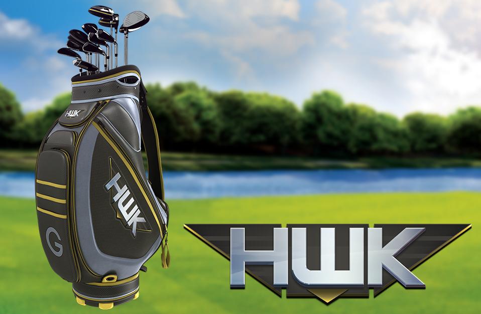 """The """"HWK"""" club set"""
