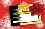 Marquee small livewire marquee holiday card