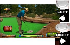 Rotate Golfer