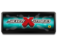 Lighted Silver Strike X Marquee